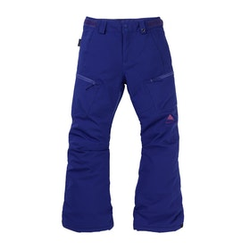 Burton Elite Cargo Snowboardbukser - Royal Blue
