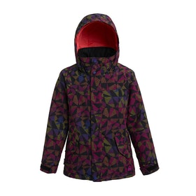 Burton Elodie Girls Snow Jacket - True Black Morse Geo
