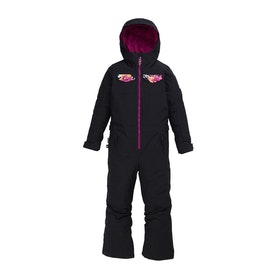 Burton Game Piece One Piece Girls Snowsuit - Trublk/sctgdn