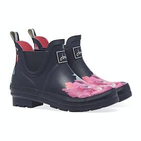 Joules Wellibob Women's Wellington Boots - Navy Floral