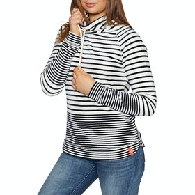 Joules Mayston Women's Sweater - Cream Navy Stripe