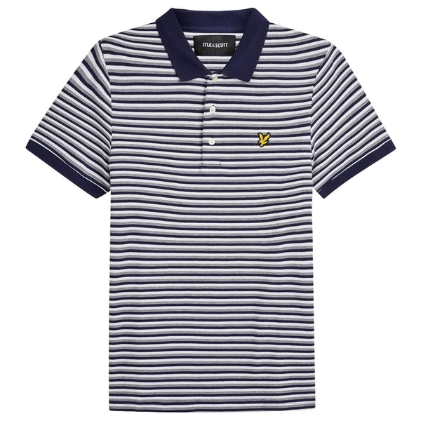 Lyle & Scott Vintage Stripe Polo Shirt