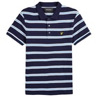 Lyle & Scott Vintage Wide Double Stripe Polo Shirt