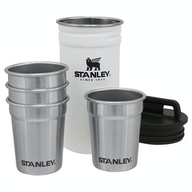 Stanley Adventure Shot Glass Set x 4 Camping Accessory - Polar