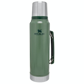 Stanley Classic Vacuum Bottle 1.0l Flask - Hammertone Green