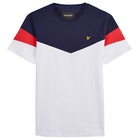 Lyle & Scott Vintage Panel Kortærmede T-shirt