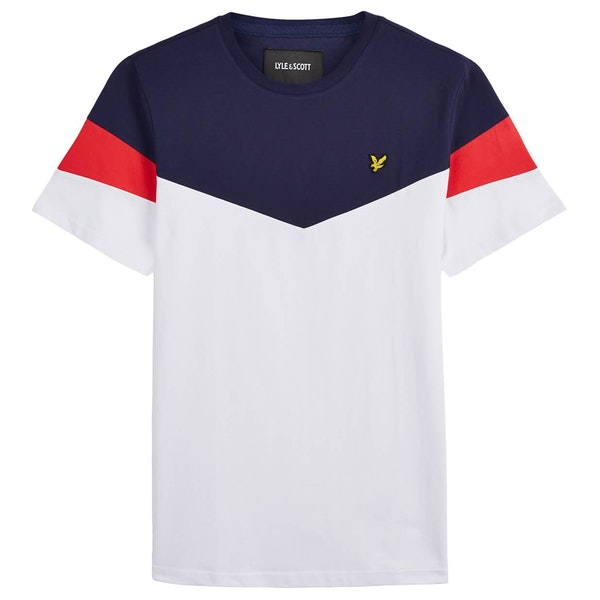 Lyle & Scott Vintage Panel Short Sleeve T-Shirt