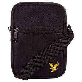Lyle & Scott Vintage Mini Messenger-Tasche - Black