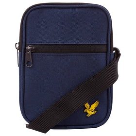Lyle & Scott Vintage Mini Messenger-Tasche - Navy