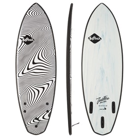 Softech Filipe Toledo Wildfire FCS II Thruster Surfboard - Granite
