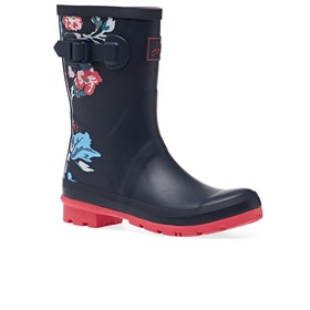 Joules Molly Womens Wellies - Navy Border Floral