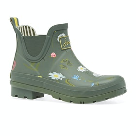Joules Wellibob Womens Wellies - Green Floral