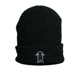 Bonnet Grizzly Og Bear Patch Fold - Black