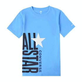 Converse All Star Stacked Short Sleeve T-Shirt - Coast