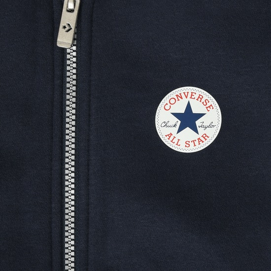 Converse Fleece Chuck Patch Full Zip Hoody