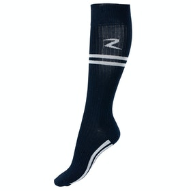 Horze Superstretch Stripe Rijsokken - Dark Blue White