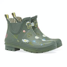 Joules Wellibob Women's Wellington Boots - Green Floral