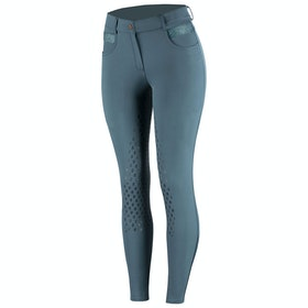 Horze Sienna Silicone Full Seat Ladies Riding Breeches - Majolica