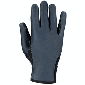 Everyday Riding Glove Enfant Horze Silicone Palm Print - Dark Blue