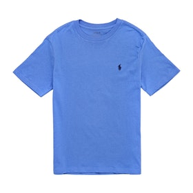 Polo Ralph Lauren Jersey Knit Boy's Short Sleeve T-Shirt - Scottsdale Blue