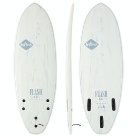 Softech Eric Geiselman Flash FCS II Thruster Surfboard - White Marble