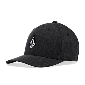Volcom Full Stone Heather Flexifit Cap - Charcoal Heather