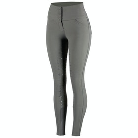 Horze Desiree Silicone Full Seat Ladies Riding Breeches - Castle Rock