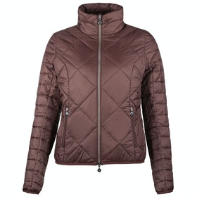 Horze Elena Lightweight Padded Dames Riding Jacket - Rum Raisin