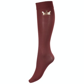 Horze Emblem Thin Damen Riding Socks - Brown Bronze