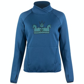 Horze Emilia Long Sleeve Technical Dames Top - Majolica