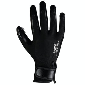 Horze Glove Grooming Mitt - Black