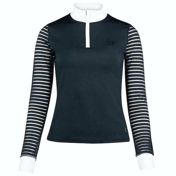 Horze Maya Long Mesh Sleeve Ladies Competition Shirt