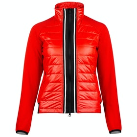Horze Robyn Combo Dames Riding Jacket - Flame Scarlett