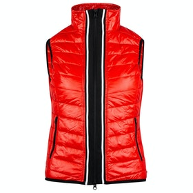 Horze Ruby Padded Ladies Gilet - Flame Scarlett