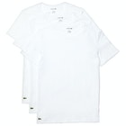 Lacoste 3 Pack Slim Fit Crew Neck Short Sleeve T-Shirt