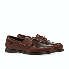 Dress Shoes Sebago Dockside FGL Oiled waxy - Brown Gum