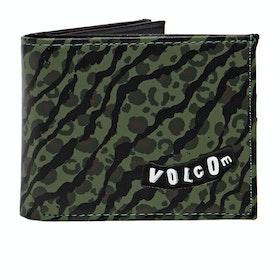 Volcom Empty PU Wallet - Camouflage