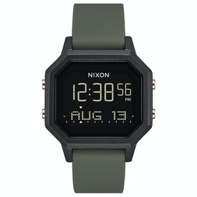 Nixon Siren SS Womens Watch - Black / Fatigue