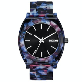 Nixon Time Teller Acetate Watch - Black / Multi