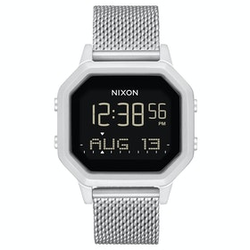 Nixon Siren Milanese Womens Watch - All Silver