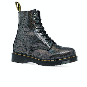 Dr Martens 1460 Pascal Womens Boots - Gunmetal Iridescent Crackle