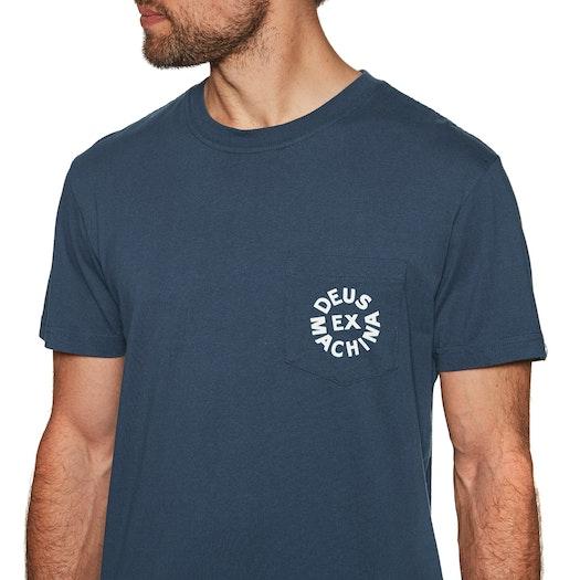 Deus Ex Machina Deus Logo Kurzarm-T-Shirt