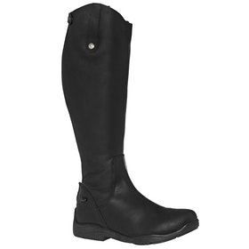 Long Riding Boots Mark Todd Fleece Lined Winter - Black