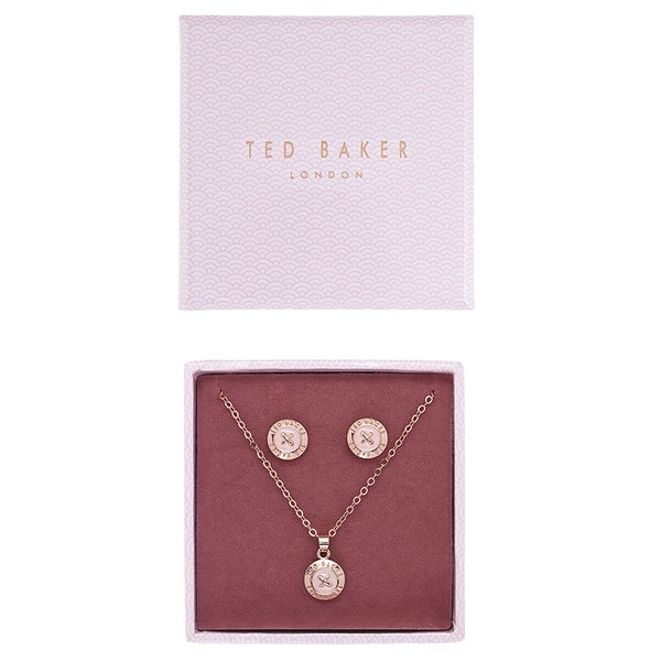 Jewellery Gift Set Ted Baker Emillia Mini Button