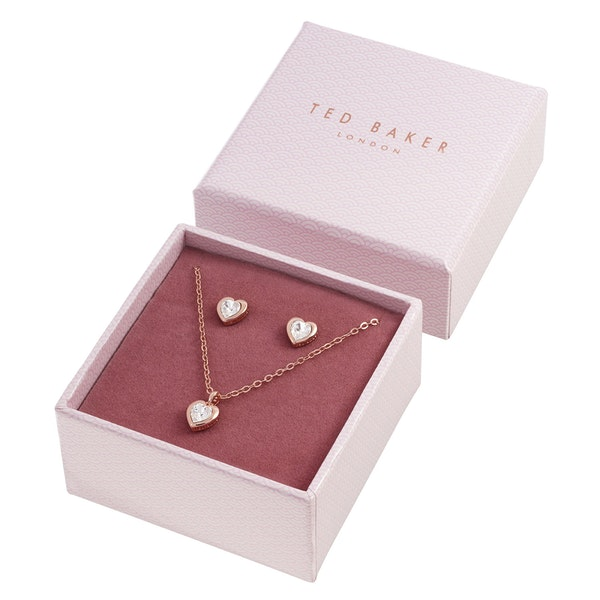 Jewellery Gift Set Ted Baker Hadeya Crystal Heart