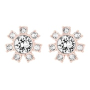 Ted Baker Cesha Daisy Clockwork Stud Earrings