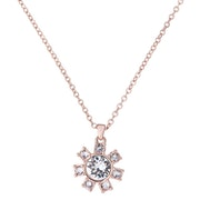 Ted Baker Cessala Daisy Clockwork Pendant Necklace