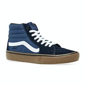 Vans Sk8-Hi Pro Shoes - Rainy Day Navy Gum