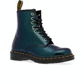 Dr Martens 1460 Sparkle Womens Boots - Teal/pacific Sparkle