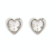 Ted Baker Han Crystal Heart Earrings